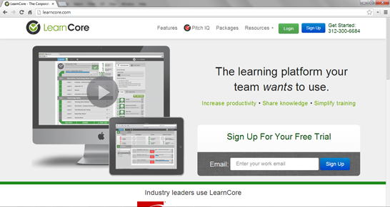 LearnCore is the definitive corporate training software